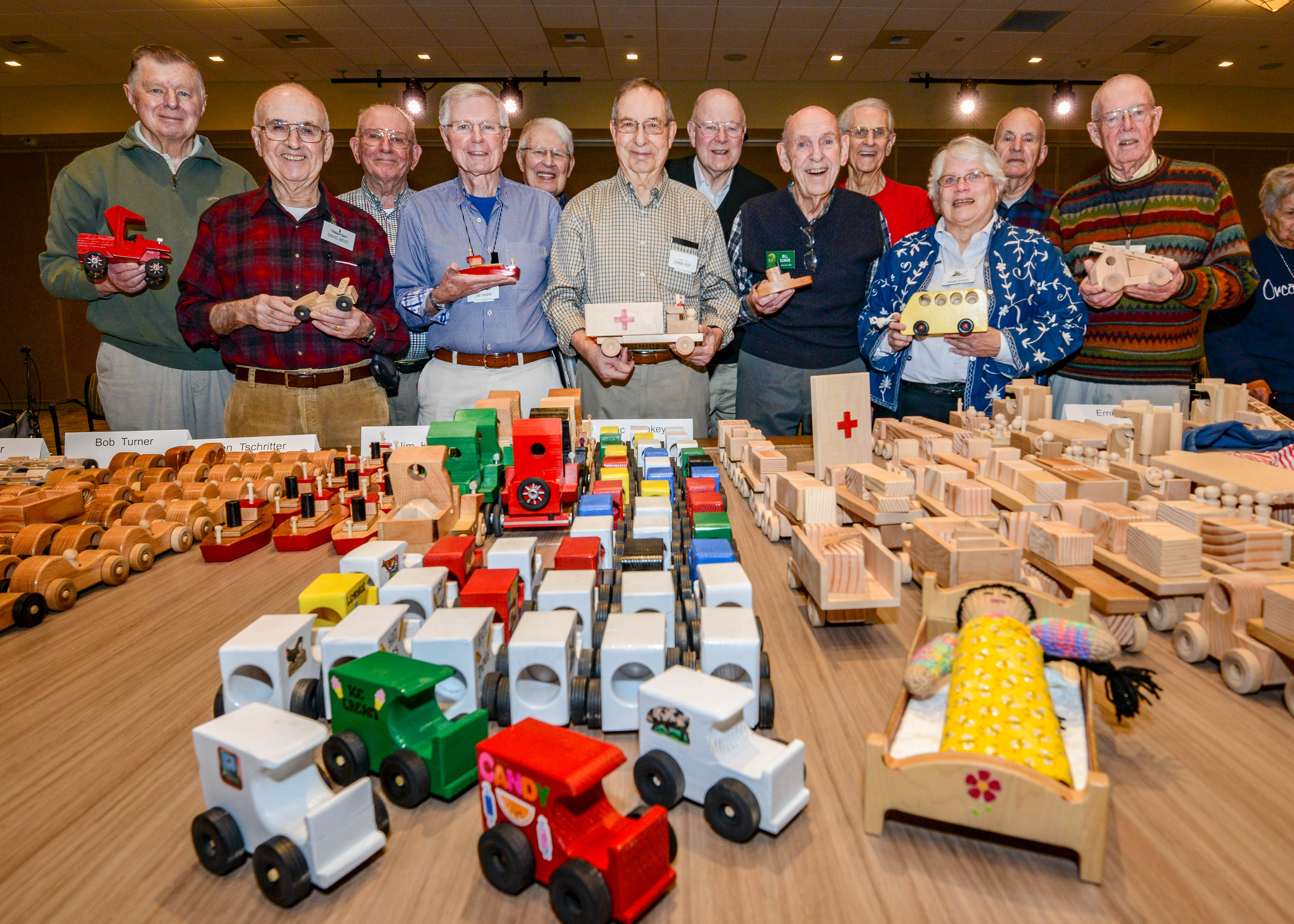 Granting a Child's Wish – One Wooden Toy at a Time