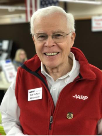 Bob DeWald, AARP Washington's Andrus Award for Community Service Recipient