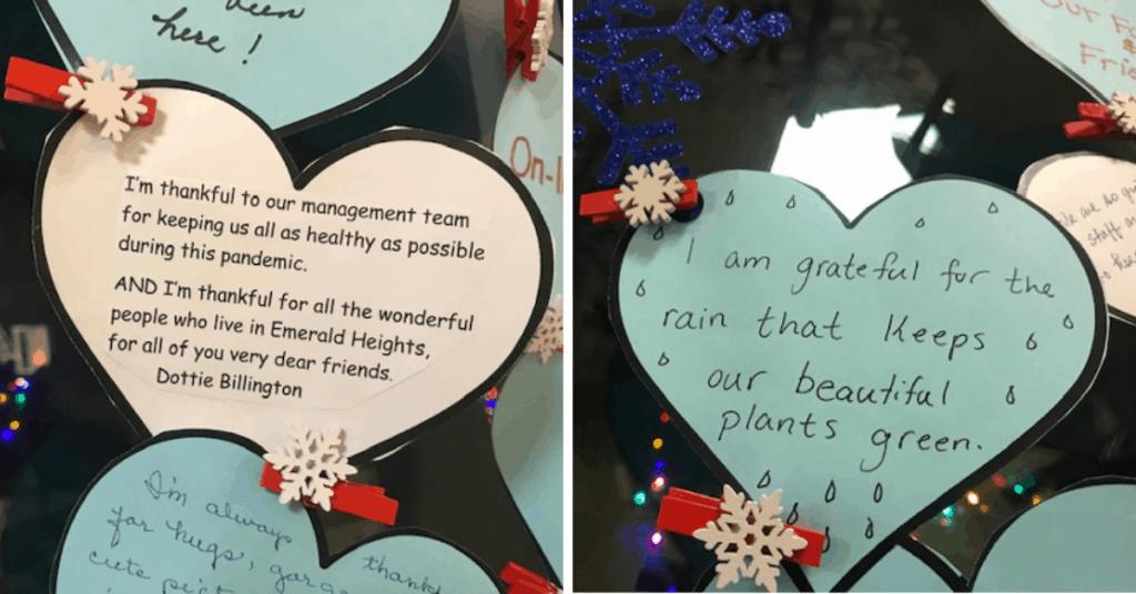 A Visual Display Of Gratitude