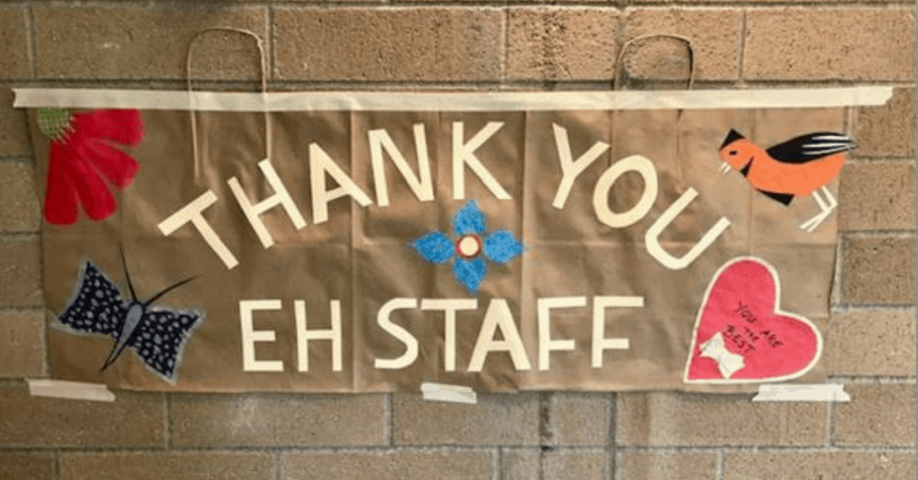 Residents of Emerald Height Show their Appreciation